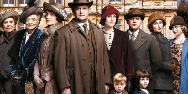 Figurino do filme Downton Abbey